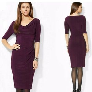 Maroon Ralph Lauren dress